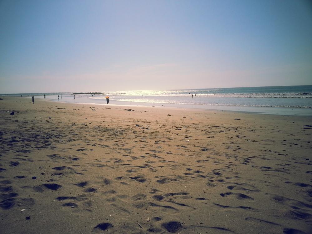 Beach in front of Setra Kuta